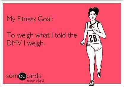 Stick to your fitness goals and you will see results!