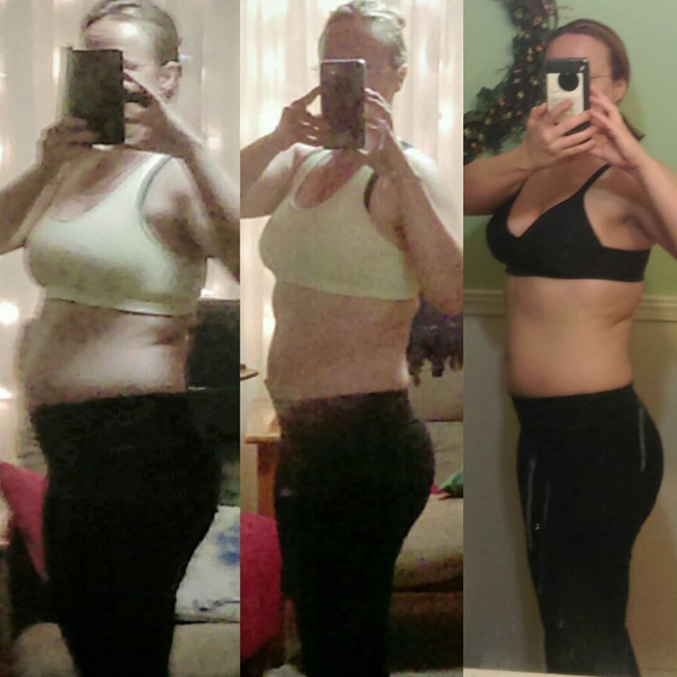 Julie weight loss success