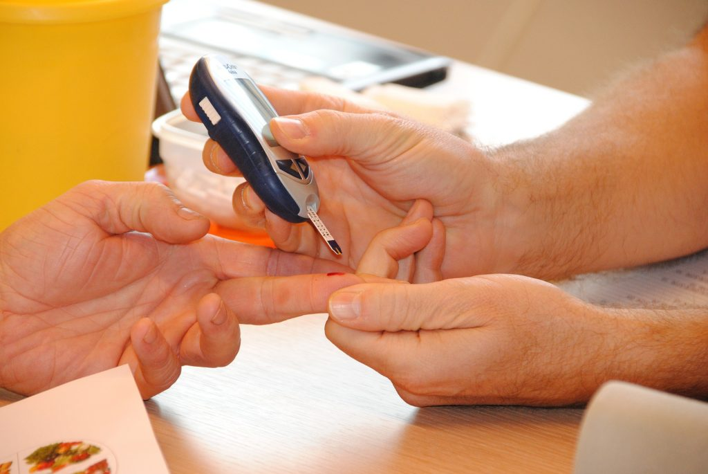 Blood sugar levels can be lowered by exercise that is performed with our personal trainers.